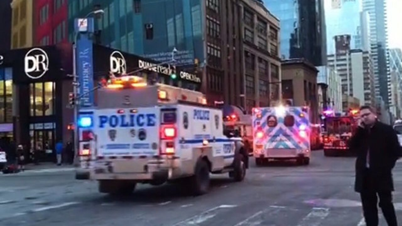 NYPD responding to reports of explosion