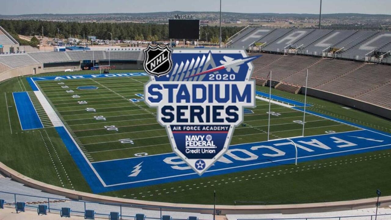 NHL Stadium Series 2020