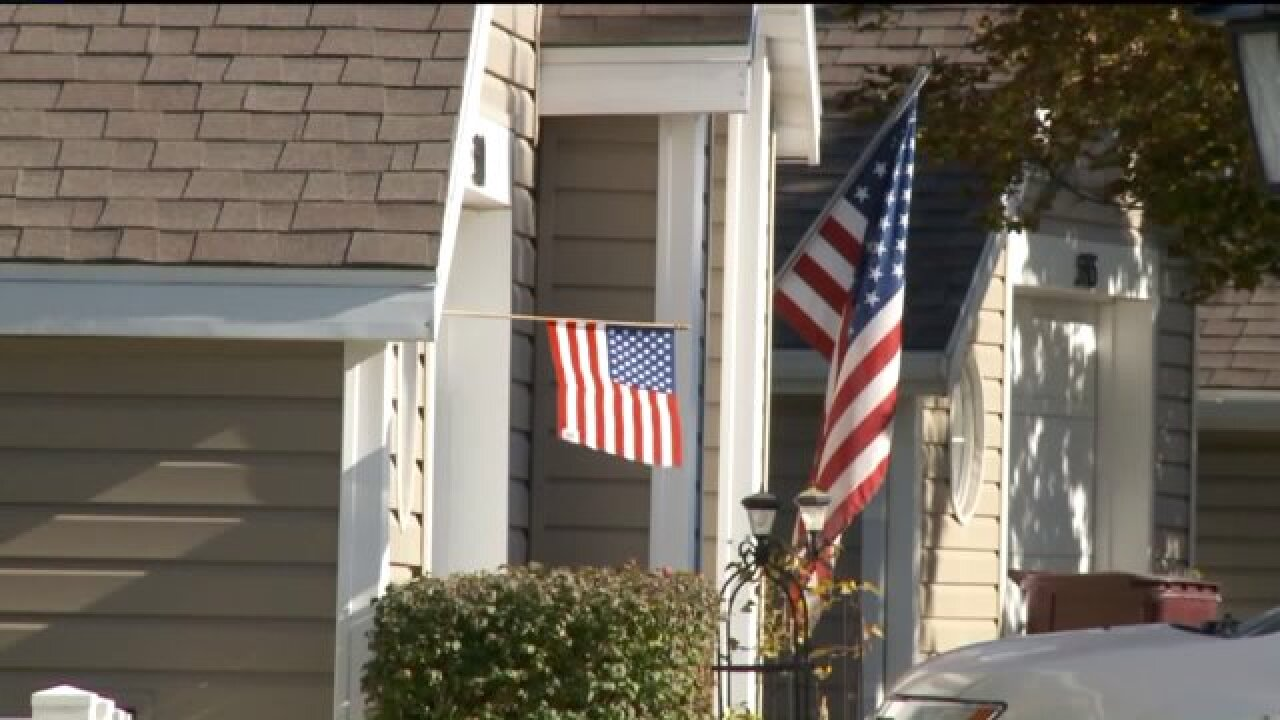 Residents in Murray furious after HOA fines homeowner for flying American Flag