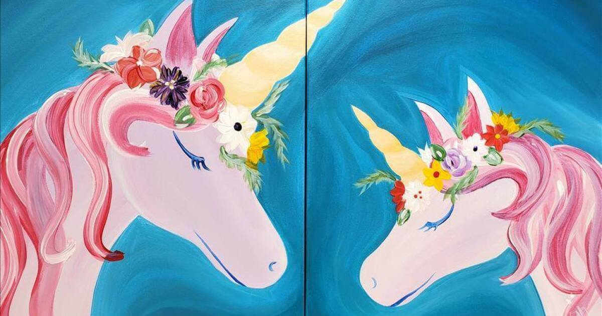 Mommy and me unicorn tea party this Saturday