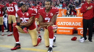 Black NFL players call on league to admit wrong for 'silencing' players for peacefully protesting