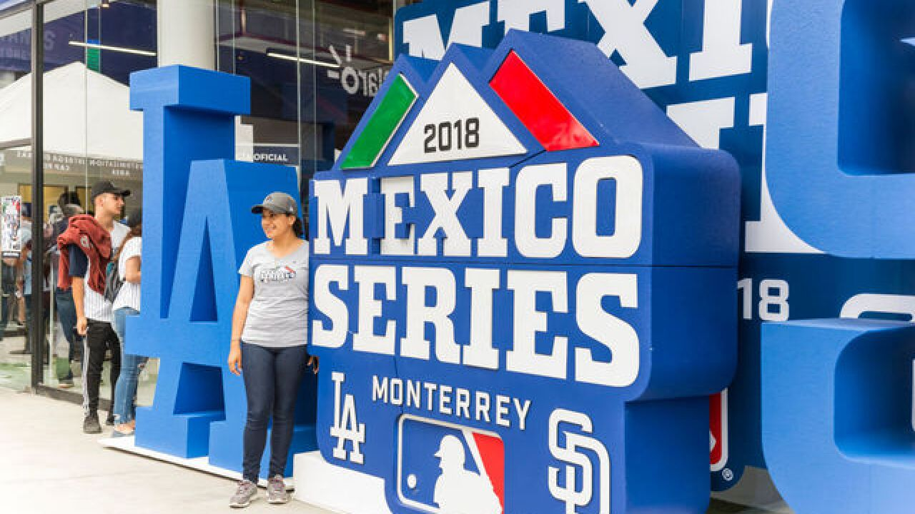 Buehler, Dodgers' bullpen combine to no-hit Padres in Mexico
