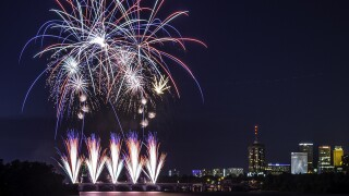 Where are the fireworks displays, celebrations?
