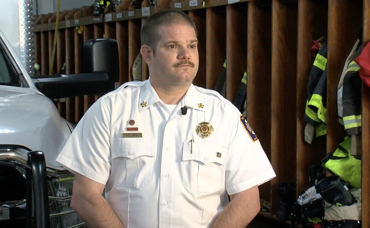 Pierce Township Fire Chief Craig Wright