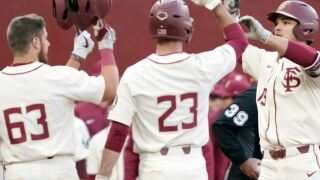 No. 17 Florida State baseball falls to No. 7 Louisville in extra innings Friday night