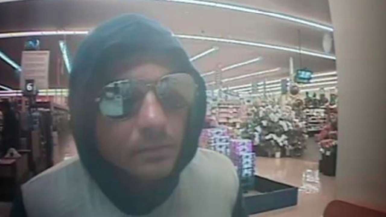 FBI searching for man who robbed grocery store bank