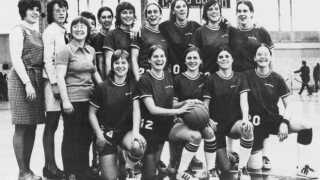 IU's Women's Basketball team in 1973