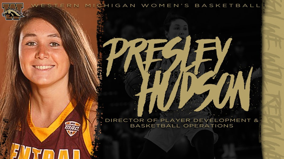Presley Hudson hired at WMU.