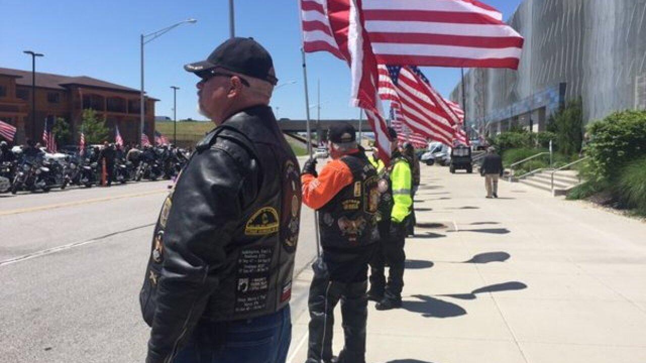 PHOTOS: Honoring Det. Brad Lancaster