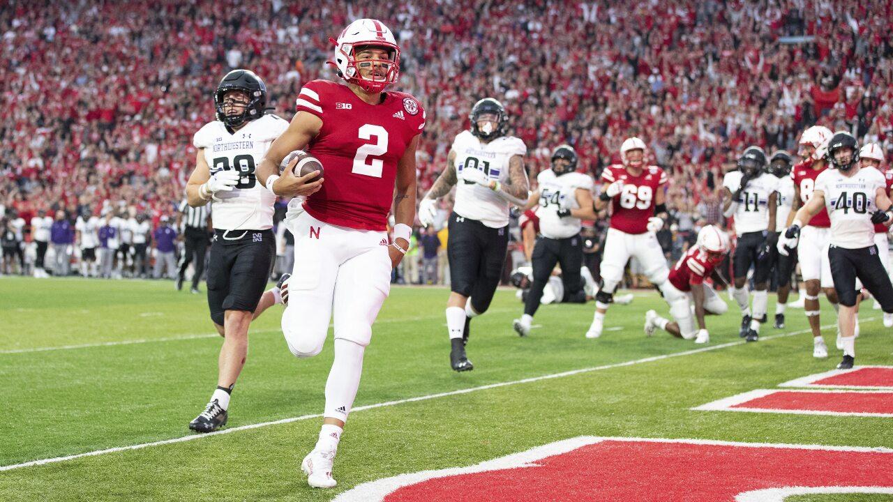 Nebraska versus Northwestern