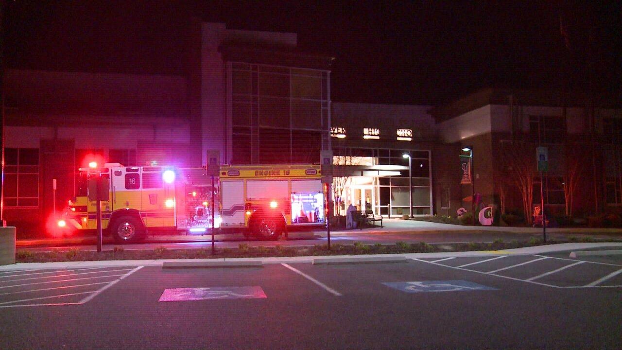 Investigators seek cause of Clover Hill High Schoolfire