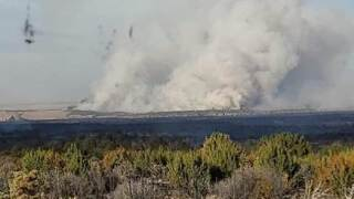 Cherry Canyon Fire near Kim_Otero County Sheriff's Office