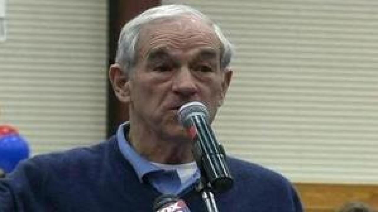 Ron Paul speaks in Elko, NV day before caucus primary