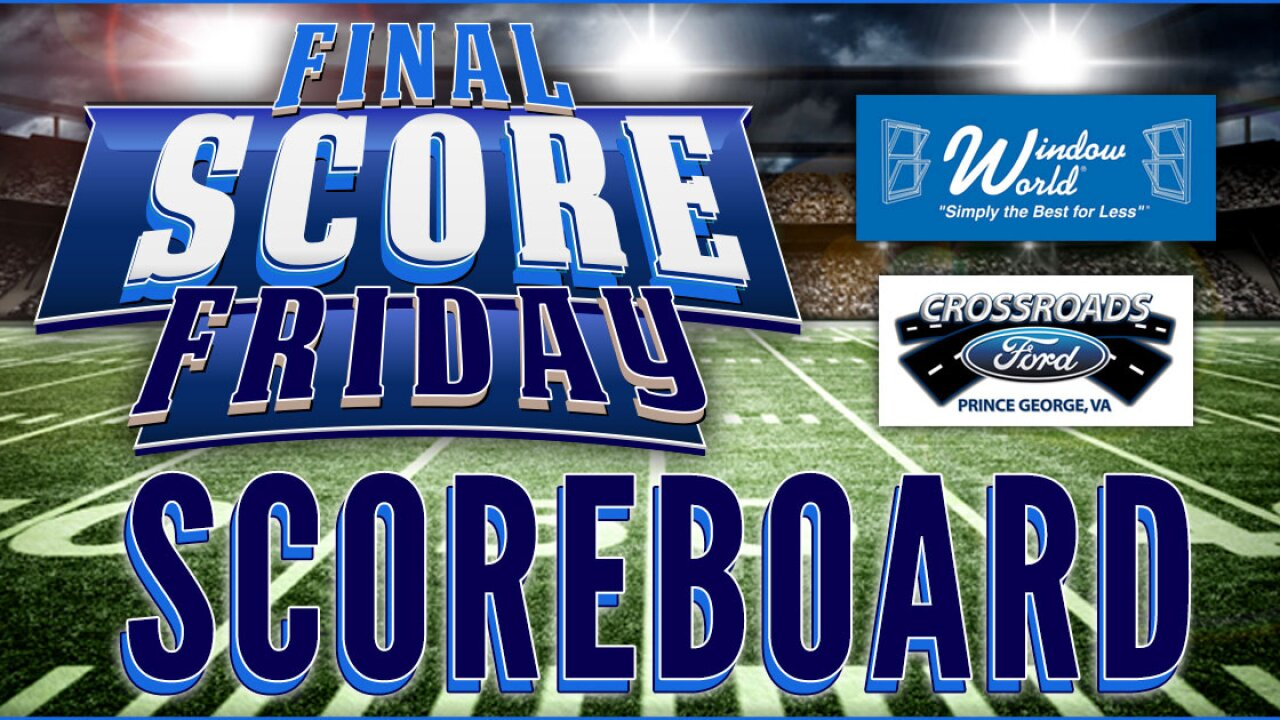 Final Score Friday 2019: Week 10 scoreboard