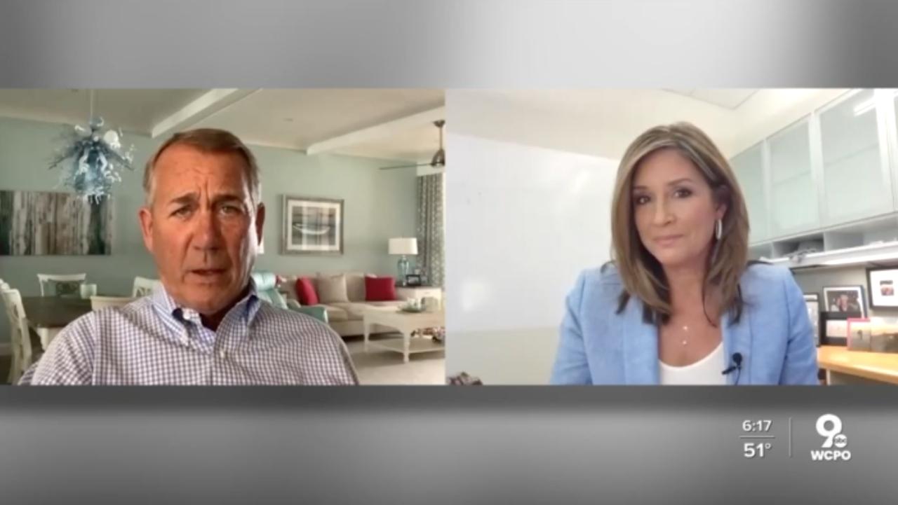 Boehner with Tanya