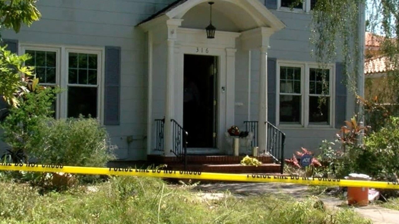Man found dead at St. Pete house fire