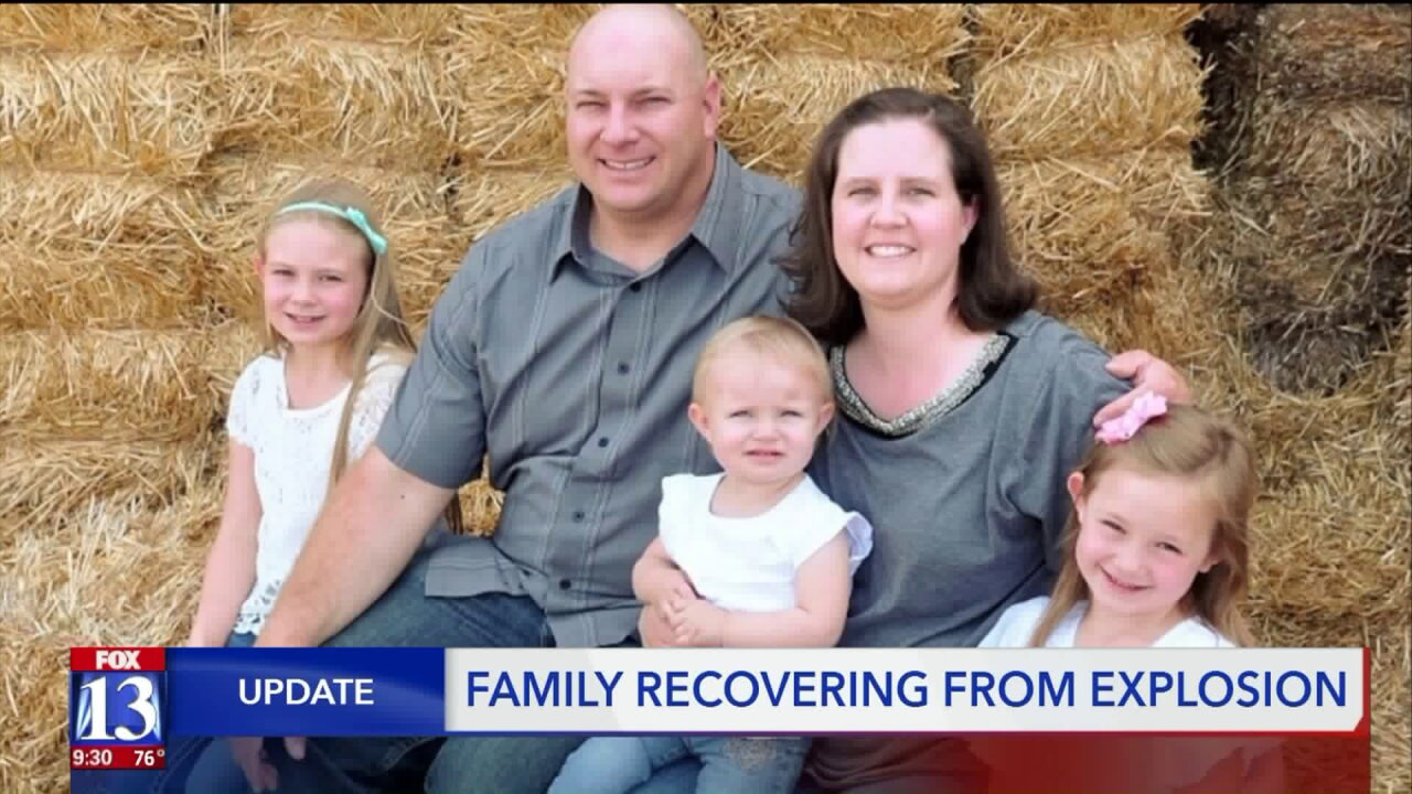 4-year-old lost toes, faces long road to recovery after Saratoga Springs vanexplosion