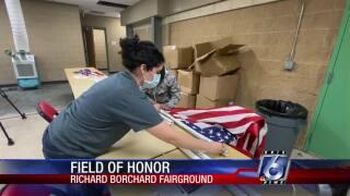 Coastal Bend Field of Honor preparations set