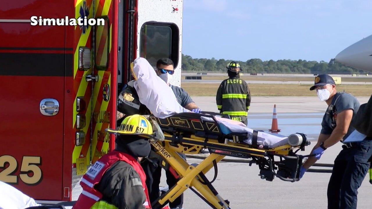 Drill at Treasure Coast International Airport on May 25, 2021