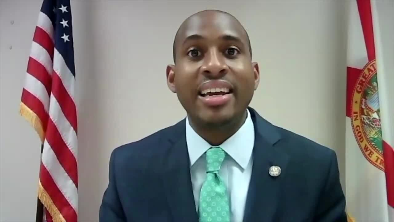 'The governor is playing politics with the pandemic, yet again,' state Rep. Omari Hardy says