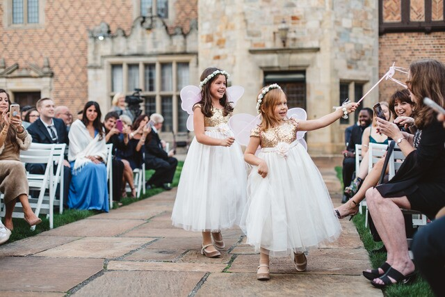 PHOTOS: Grandmother becomes flower girl for Michigan wedding