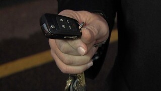 Thieves use technology to steal key fob signals