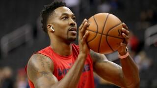 Dwight_Howard_Oklahoma City Thunder v Washington Wizards