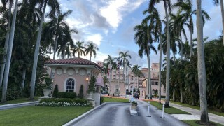 Boca Raton Resort & Spa entrance, July 2020