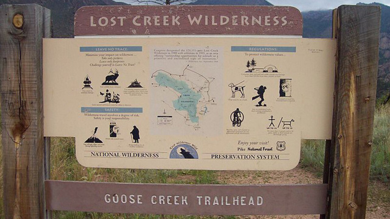 Missing Jefferson County hikers found; got lost in the Goose Creek Trailhead area