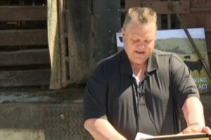 US senator Jon Tester held a press conference in Billings to announce his new piece of legislation