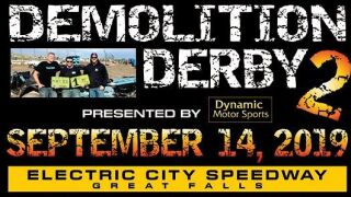 Demolition Derby in Great Falls on Saturday