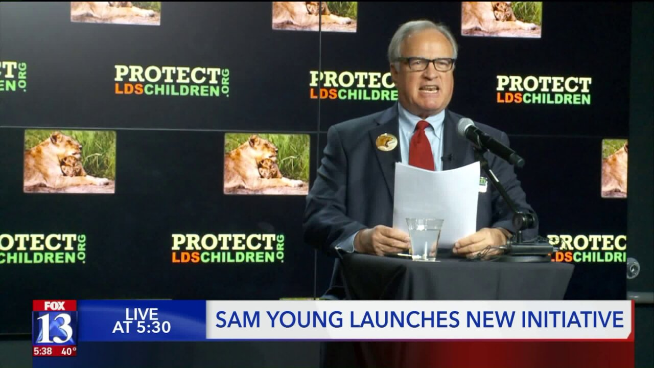 Sam Young, founder of 'Protect LDS Children,' announces newcampaign