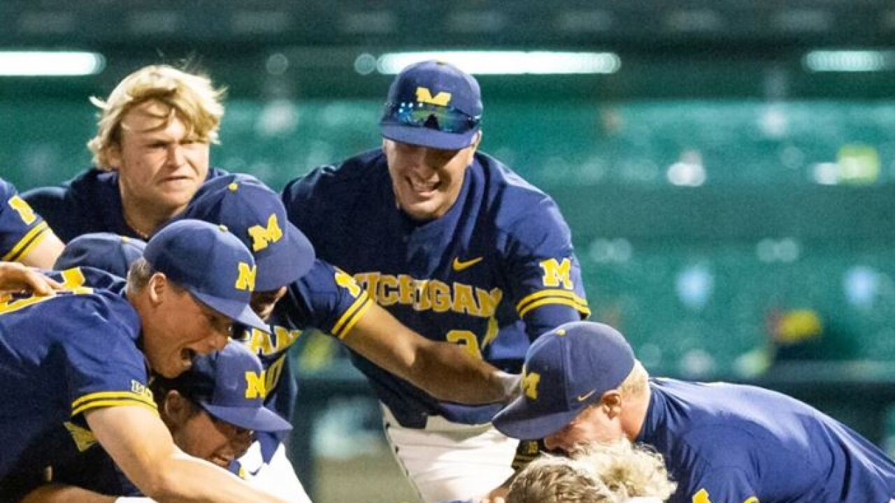 Michigan's run to College World Series is rare, historic