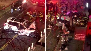Fatal crash in Williamsburg, Brooklyn