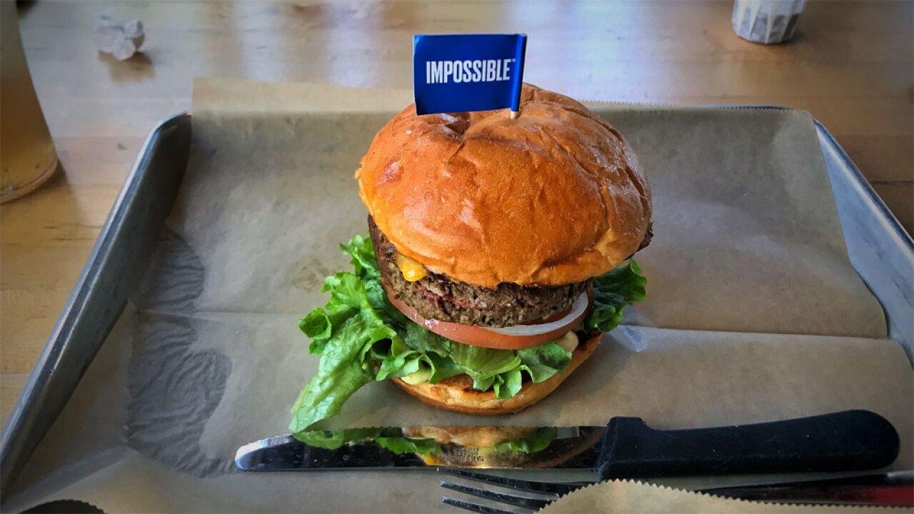 WPTV Impossible Burger