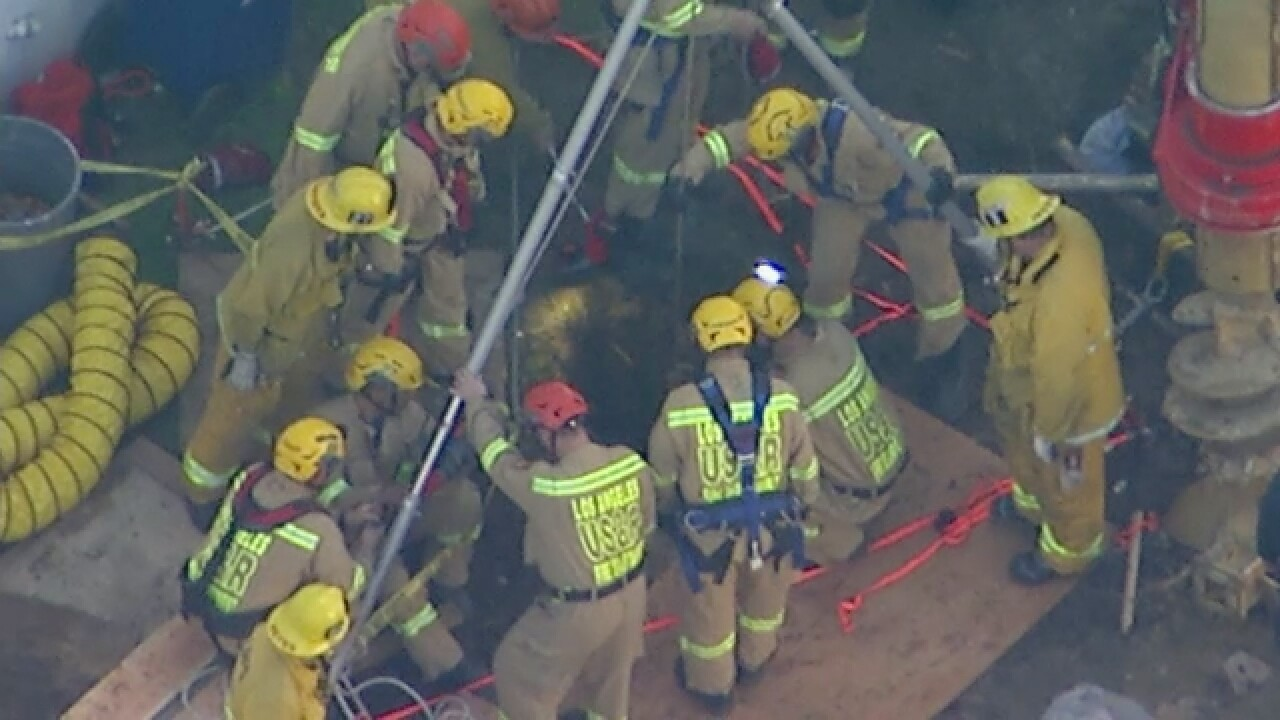 trench rescue east hollywood