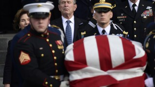 George HW Bush Texas Funeral