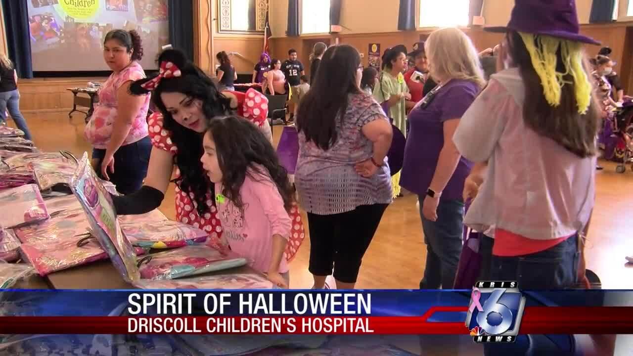 Driscoll Children's Hospital Halloween party