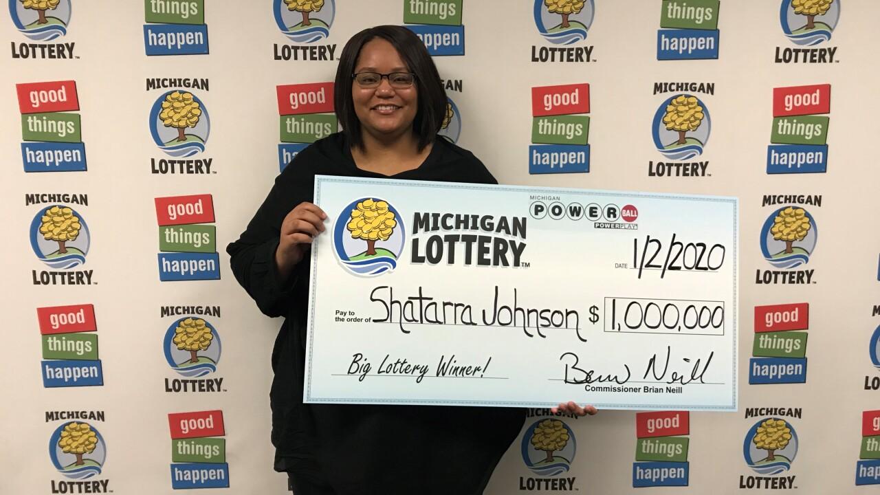 Detroit Woman Hits 1 Million Powerball Prize Drawn On Christmas Day