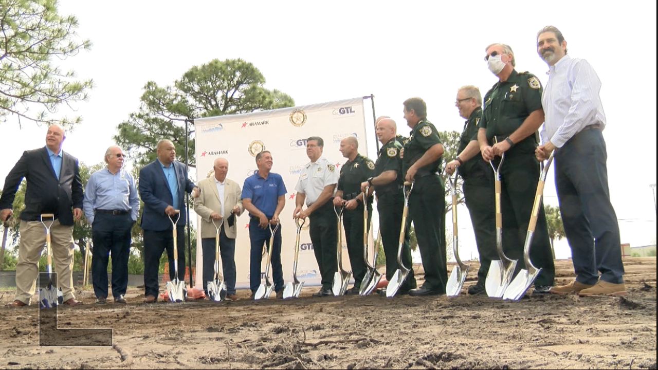 Breaking ground on new St. Lucie County Jail visitation center