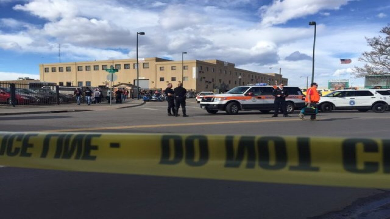 Shooting reported at Denver Coliseum