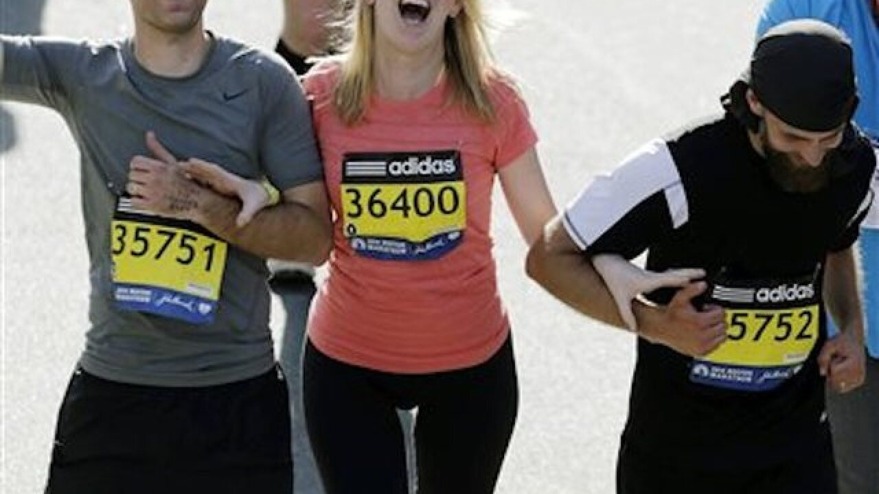 Woman to run Boston Marathon after losing leg