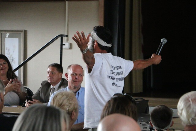 Photos from  the Army Corps of Engineers talking water in Cape Coral