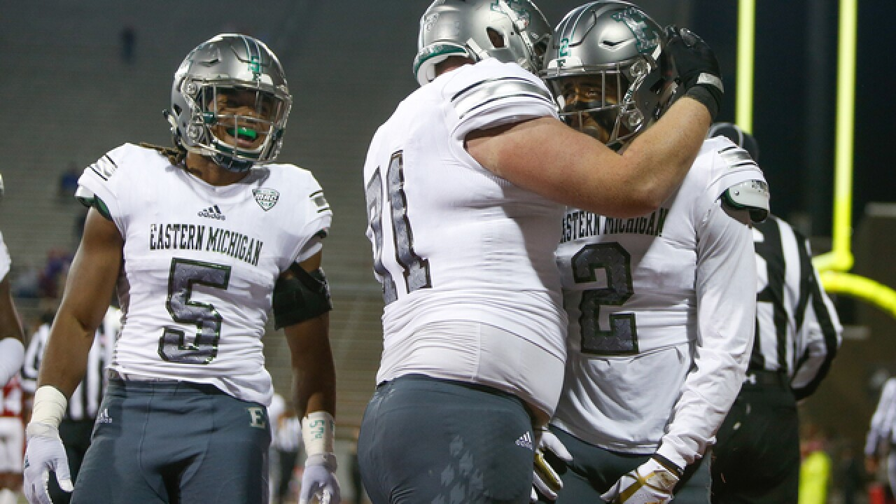 Roback sets career record in Eastern Michigan's 27-24 win