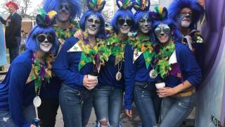 From Bonaparte to Triton, Lafayette Mardi Gras is in full swing