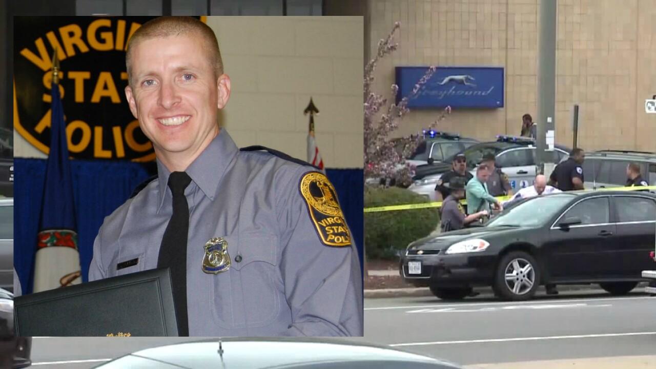 Trooper Chad Dermyer killed in Richmond Greyhound bus stationshooting