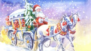 Eagle Mount fundraiser features wagon ride with Santa