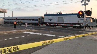 Train hits, kills pedestrian near Lindbergh Field