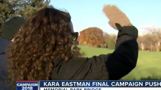 Kara Eastman makes final push for votes
