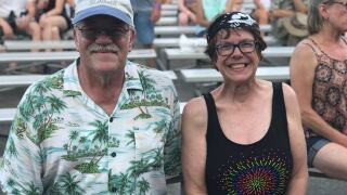 Summerfest super fans  Nancy Sachs and Michael Retzer